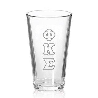 Phi Kappa Sigma Big Letter Mixing Glass