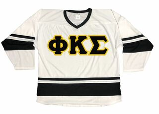 DISCOUNT-Phi Kappa Sigma Breakaway Lettered Hockey Jersey