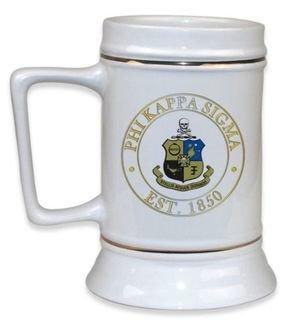 Phi Kappa Sigma Ceramic Stein