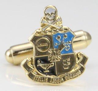 Phi Kappa Sigma Color Crest - Shield Cuff links