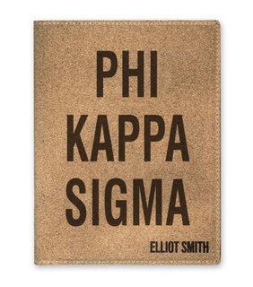 Phi Kappa Sigma Cork Portfolio with Notepad