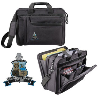 DISCOUNT-Phi Kappa Sigma Crest - Shield Briefcase Attache