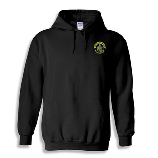 DISCOUNT-Phi Kappa Sigma Crest - Shield Emblem Hooded Sweatshirt