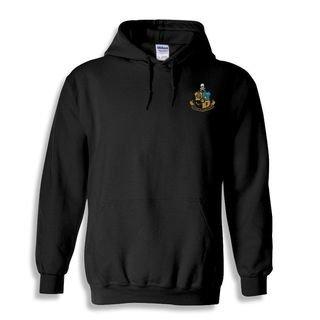 DISCOUNT-Phi Kappa Sigma Crest - Shield Emblem Hooded Sweatshirt