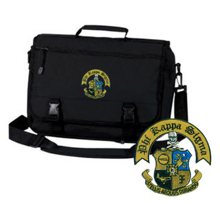 Phi Kappa Sigma Crest Greek Expandable Briefcase