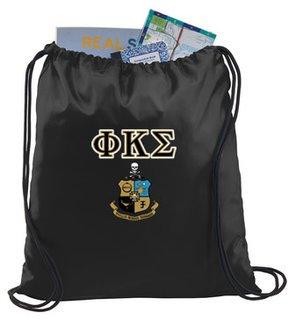 Phi Kappa Sigma Crest - Shield Cinch Sack