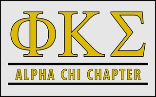 Phi Kappa Sigma Custom Line Sticker Decal