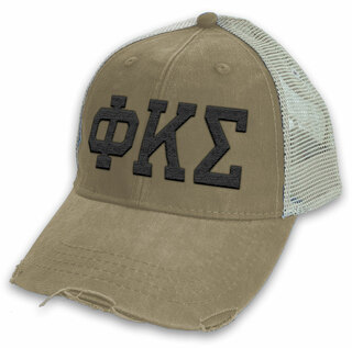 Phi Kappa Sigma Distressed Trucker Hat