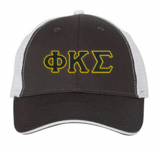 Phi Kappa Sigma Double Greek Trucker Cap