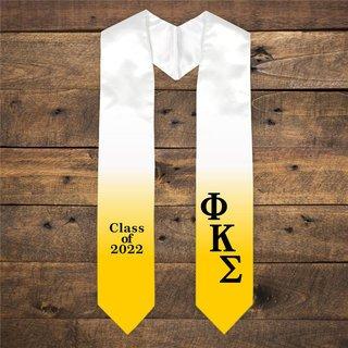 Phi Kappa Sigma Extra Fancy Classic Greek Graduation Stole