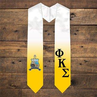 Phi Kappa Sigma Extra Fancy Diagonal Greek Graduation Stole W Crest
