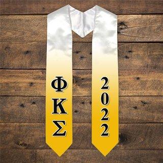 Phi Kappa Sigma Extra Fancy Greek Graduation Stole W Year