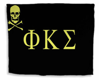 Phi Kappa Sigma Flag Giant Velveteen Blanket