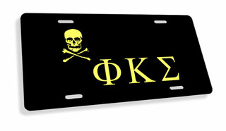 Phi Kappa Sigma Flag License Cover
