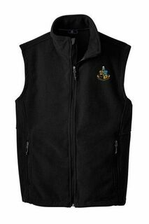 Phi Kappa Sigma Fleece Crest - Shield Vest