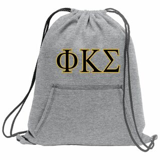 Phi Kappa Sigma Fleece Sweatshirt Cinch Pack