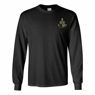 DISCOUNT-Phi Kappa Sigma Fraternity Crest - Shield Longsleeve Tee
