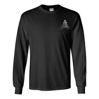 DISCOUNT-Phi Kappa Sigma Fraternity Crest - Shield Longsleeve Tee