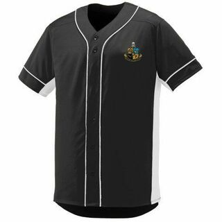 DISCOUNT-Phi Kappa Sigma Fraternity Crest - Shield Slugger Baseball Jersey