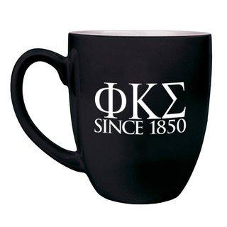 Phi Kappa Sigma Greek Bistro Mug