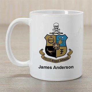 Phi Kappa Sigma Greek Crest Coffee Mug - Personalized!