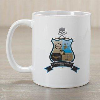Phi Kappa Sigma Greek Crest Coffee Mug