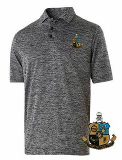 Phi Kappa Sigma Greek Crest Emblem Electrify Polo