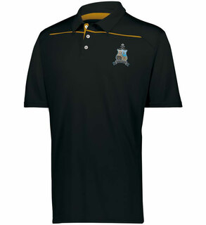 Phi Kappa Sigma Greek Crest Emblem Defer Polo