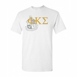 Phi Kappa Sigma Greek Crest - Shield T-Shirt