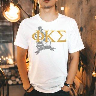 Phi Kappa Sigma Greek Crest - Shield T-Shirt