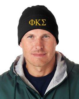 Phi Kappa Sigma Greek Letter Knit Cap
