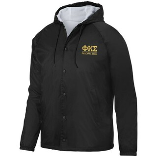 Phi Kappa Sigma Hooded Coach's Jacket