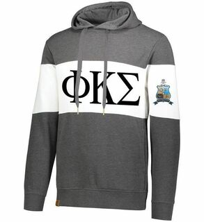 Phi Kappa Sigma Ivy League Hoodie W Crest On Left Sleeve