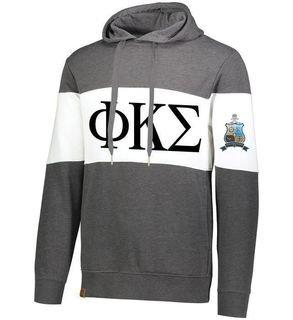 Phi Kappa Sigma Ivy League Hoodie W Crest On Left Sleeve