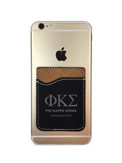 Phi Kappa Sigma Leatherette Phone Wallet