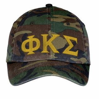 Phi Kappa Sigma Lettered Camouflage Hat