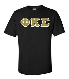 Phi Kappa Sigma Lettered T-Shirt
