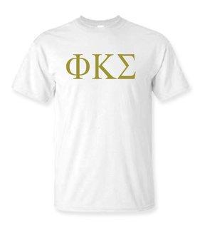 Phi Kappa Sigma Lettered Tee - $9.95!