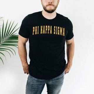 Phi Kappa Sigma letterman tee