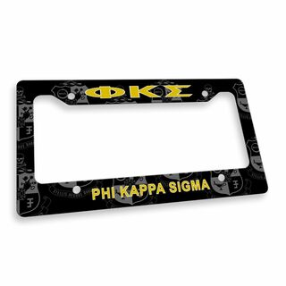 Phi Kappa Sigma Custom License Plate Frame