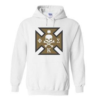 Phi Kappa Sigma Logo Hooded Sweatshirt