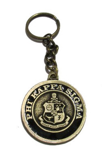 Phi Kappa Sigma Metal Fraternity Key Chain