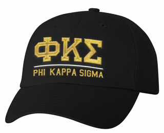 Phi Kappa Sigma Old School Greek Letter Hat