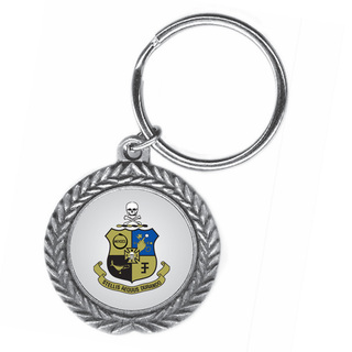 Phi Kappa Sigma Pewter Key Ring