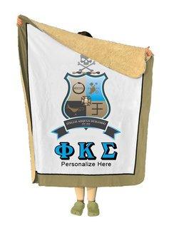 Phi Kappa Sigma Sherpa Lap Blanket