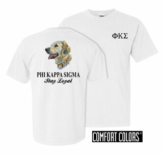 Phi Kappa Sigma Stay Loyal Comfort Colors T-Shirt