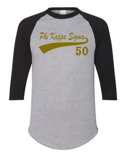 Phi Kappa Sigma Tail Year Raglan