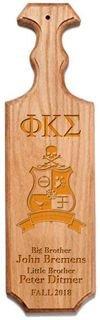 Phi Kappa Sigma Traditional Greek Paddle