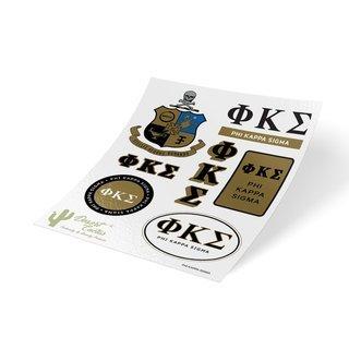 Phi Kappa Sigma Traditional Sticker Sheet