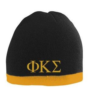 Phi Kappa Sigma Two Tone Knit Beanie